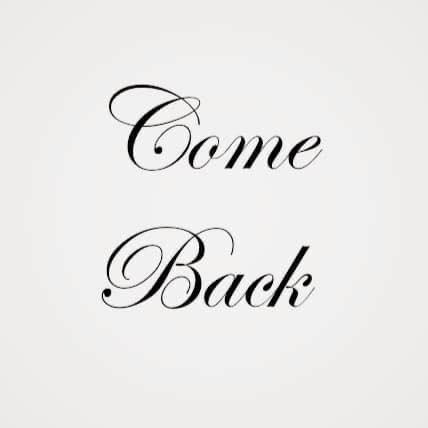 Logo come back